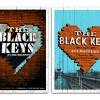 The Black Keys: Brixton, UK show posters.